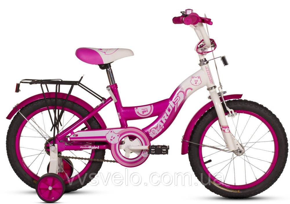 Велосипед детский ARDIS Fashion 16 розово белый