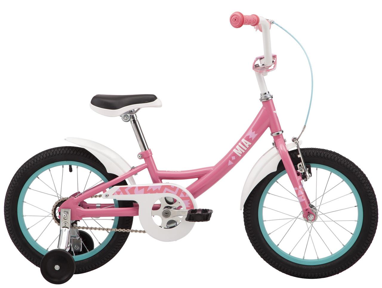 """Велосипед 16"""" Pride MIA 16 2021 рожевий"""