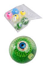 Мяч 6,5см BT-JB-0043 попрыгунчик свет.глаз 6шт./144/
