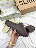 Adidas Yeezy Slide Soot (коричневые), фото 7