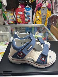 Дитячі літні ортопедичні босоніжки для хлопчика розмір 20 24