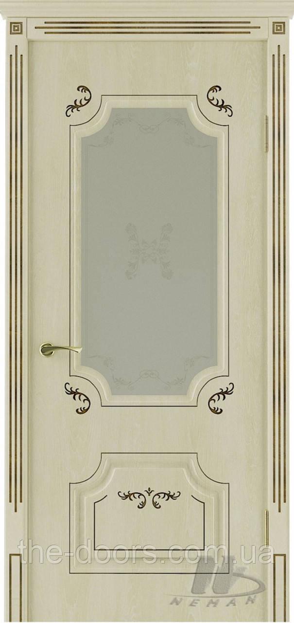 Двери Неман ВИП модель Мартин стекло сатин