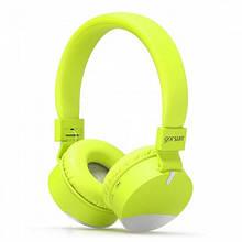 Bluetooth навушники Gorsun GS-E86 Зелений