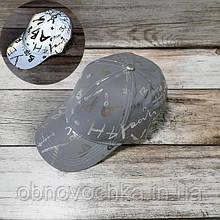 Женская светоотражающая кепка-бейсболка