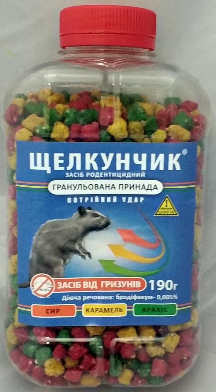 Родентицид Щелкунчик гранула 190г