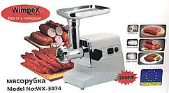 Электрическая мясорубка Wimpex 2000 Вт Оригинал Электромясорубка