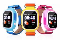 Детские смарт часы Q80  GSM, sim, Sos,Tracker Finder Smart Watch