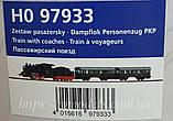 Детская Железная дорога PIKO 97933 Стартовый набор пассажирский поезд, принадлежности PKP, масштаба H0.1/87, фото 2