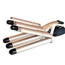 Плойка-щипцы Gemei GM-2933 пятиволновая с керамическим покрытием