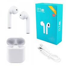 Беспроводные Наушники HBQ i11 TWS Сенсорные Stereo Bluetooth V5.0