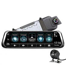 Видеорегистратор зеркало E92 на 2 камеры на весь экран