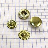 Кнопка альфа 15 мм золото Китай a4217 (360 шт.)