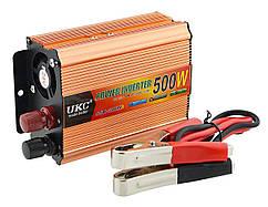 Преобразователь UKC авто инвертор AC/DC SSK  500W 12V