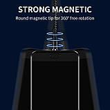 Магнітний кабель для швидкої зарядки і передачі даних Greenport M12A3 1m 3.0 A для micro usb Black (M12A37), фото 4