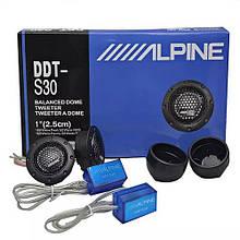 Автомобильные колонки пищалки Alpine DDT-S30