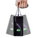 Магнітний кабель для зарядки Usams iPhone 1m 2.1 A 360° Чорний (2223), фото 4