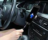 Магнітний кабель для зарядки Usams iPhone 1m 2.1 A 360° Чорний (2223), фото 5