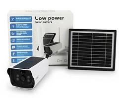 Уличная аккумуляторная IP камера видеонаблюдения UKC Y9 2 mp с солнечной панелью