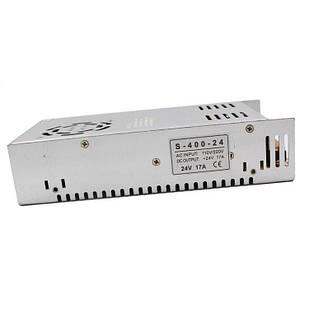 Блокпитания для светодиодной ленты24 В 17 A (400 Вт) 110-220 В