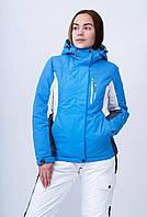 Горнолыжная куртка женская Freever GF 8260 голубая