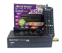 Т2 ресивер тюнер T2 World Vision T625A LAN + прошивка + IPTV каналы