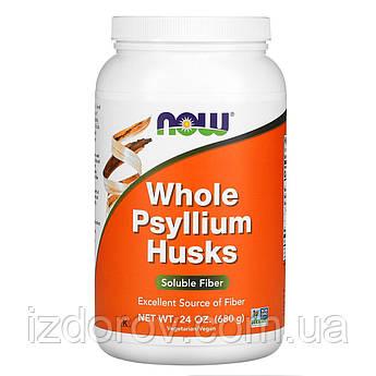 Now Foods, Псиллиум, Подорожник (цельная оболочка семян), Whole Psyllium Husks, 680 г