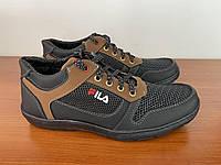 Туфлі мокасини чоловічі літні спортивні чорні прошиті зручні ( код 5522 )
