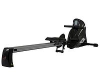 Гребной тренажер кардиотенажер для похудания тренажер для гребли Hammer Cobra XTR 453 со счетом калорий.