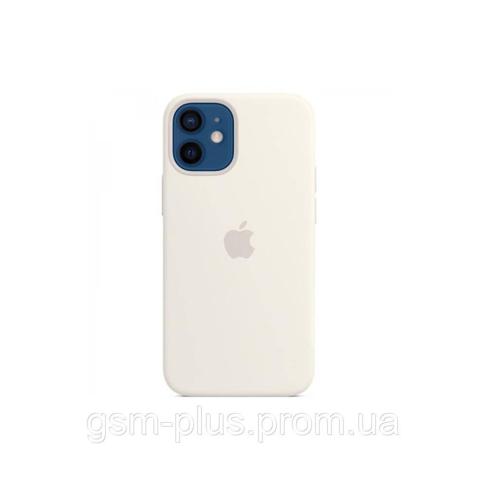 Чехол (sillicon case) для iphone 12 mini white
