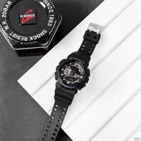 Наручные водостойкие кварцевые часы Casio G-Shock GA-110, мужские спортивные електронные часы черные