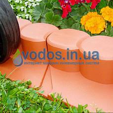 Палисад Газонный Графит (черный)  2,1 метра - декоративный садовый бордюр Palisada MIDI Plus (Польша), фото 3