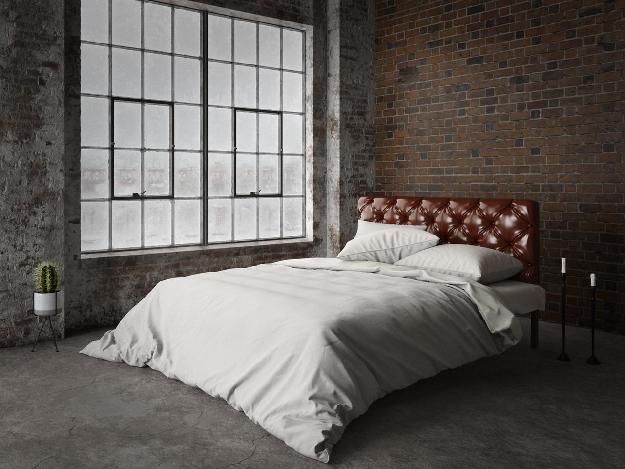 Металлическая кровать с мягким изголовьем Канна ТМ Tenero