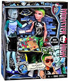 Набор кукол Монстер Хай Monster High Дьюс Горгон и Гил  Веббер Gil Webber and Deuce Gorgon , фото 2