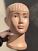 Детская голова манекен Мальчик с макияжем