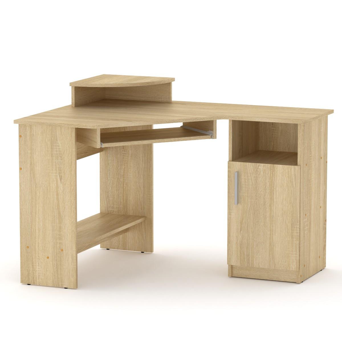 Стол письменный СУ-1 дуб сонома Компанит