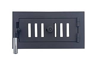 Дверца поддувальная для печи 102840 с регулировкой подачи воздуха