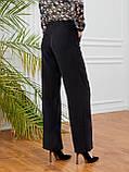 Светлые брюки-клеш из льна ЛЕТО, фото 9