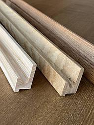 Мебельные ручки профильные деревянные