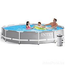 Каркасний басейн Intex 26712, (366 x 76 см), (фільтр-насос 2 006 л/год)