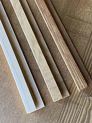 Интегрированные ручки из дерева для фасадов