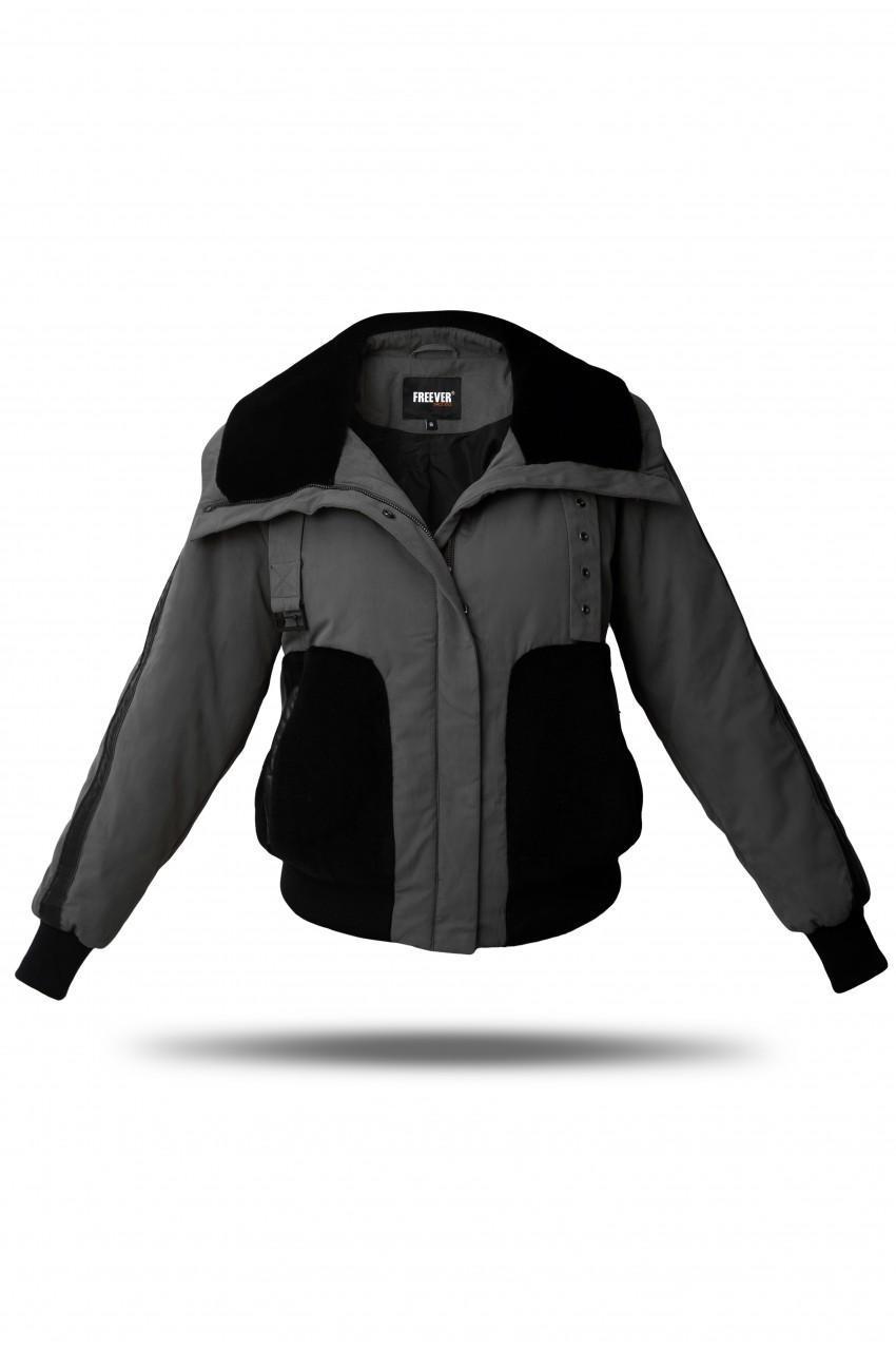 Куртка-бомбер женская Freever GF 79259 черная