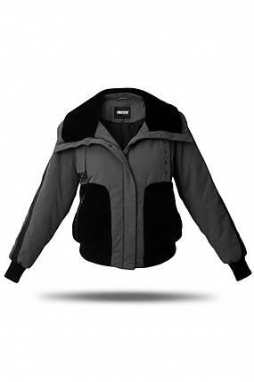 Куртка-бомбер женская Freever GF 79259 черная, фото 2