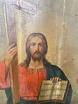 Ікона Свята Трійця 19 століття Росія, фото 3