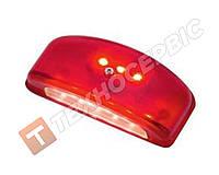 Подсветка номера 9LED красный корпус (пр-во FR Турция)