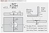 Петля барна Бронза з регулюванням GTV (PD-MD-ZB-04-KPL), фото 2