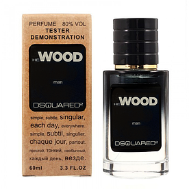 Dsquared2 He Wood TESTER LUX, мужской, 60 мл
