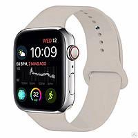Ремінець для Apple Watch 38 mm (3) (Сіро-бежевий)