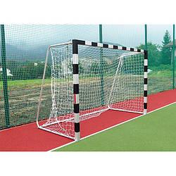 Сетка для мини-футбола, футзала, гандбола безузловая 3*2*1 м, диаметр 4 мм, яч.100 мм