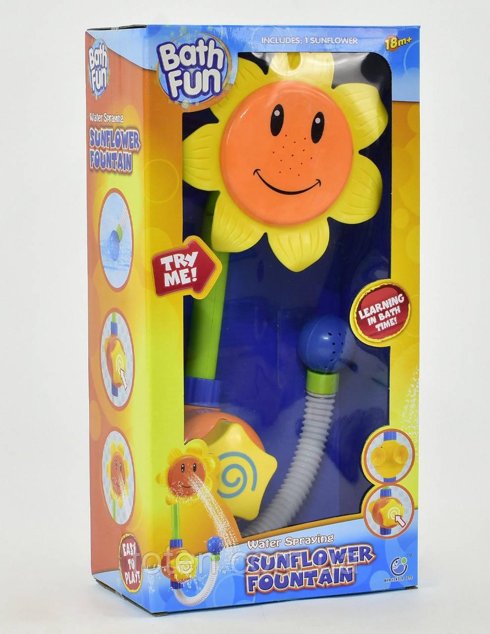 """Іграшка для ванної Водоспад 9904 """"Соняшник"""", на присоску Т"""
