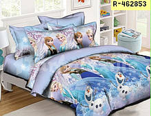 Комплект постельного белья полуторный леденое сердце